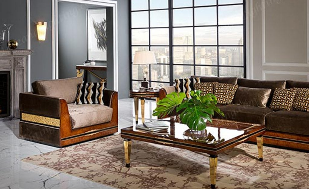 European Living Room Austin Luxury Furniture Lighting