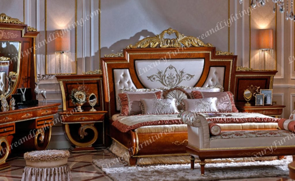 Europa Italian Furniture Luxurious Italian Bedroom