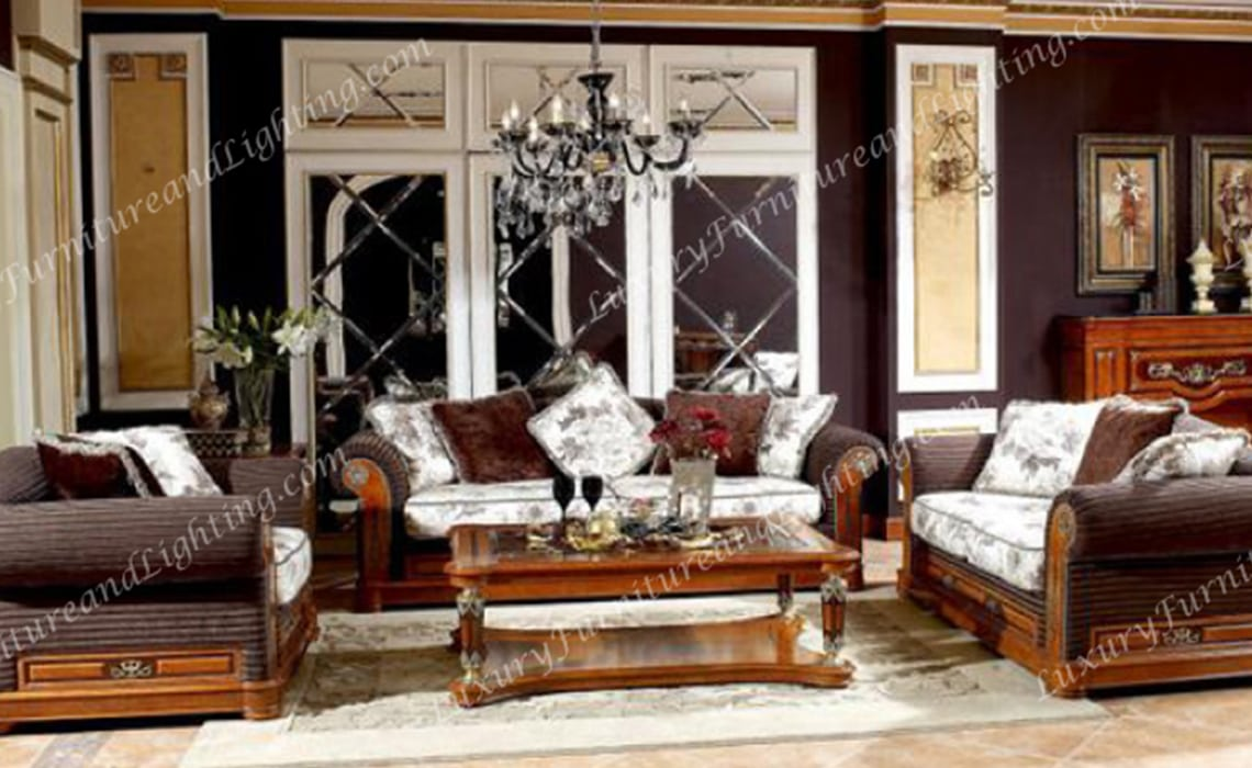 Majestic Italian Furniture - Italian Living Room Furniture Sets