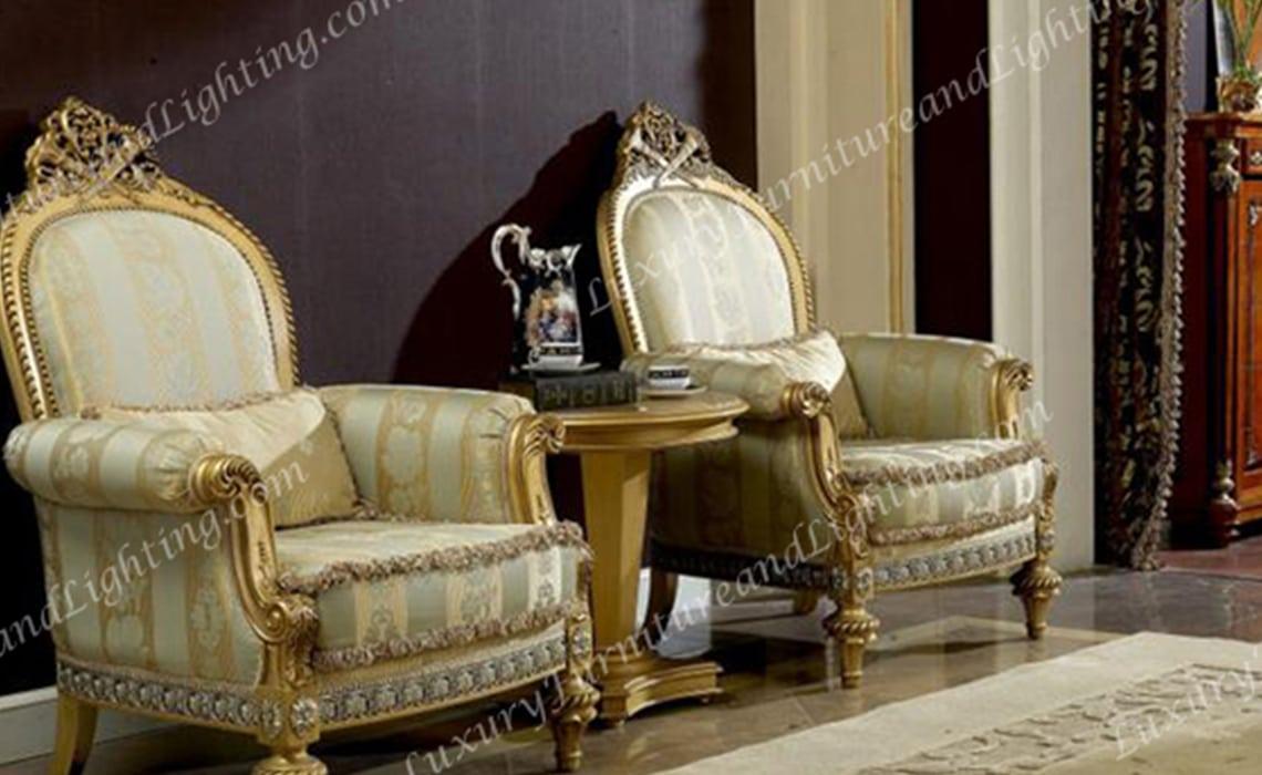 Majestic Italian Furniture - Italian Living Room Furniture Sets