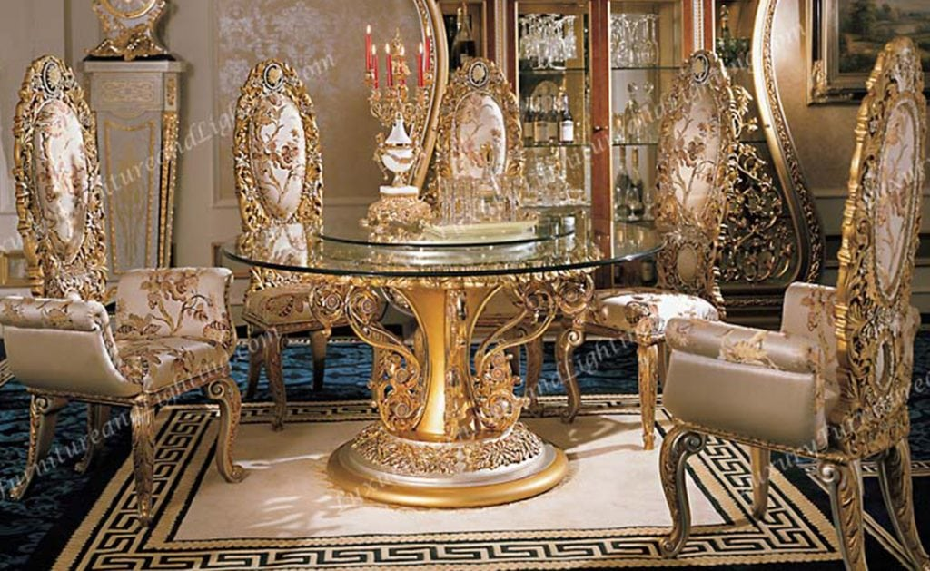 Luxury Furniture Is One Of The Largest Italian Style Dining Room Companies On Internet