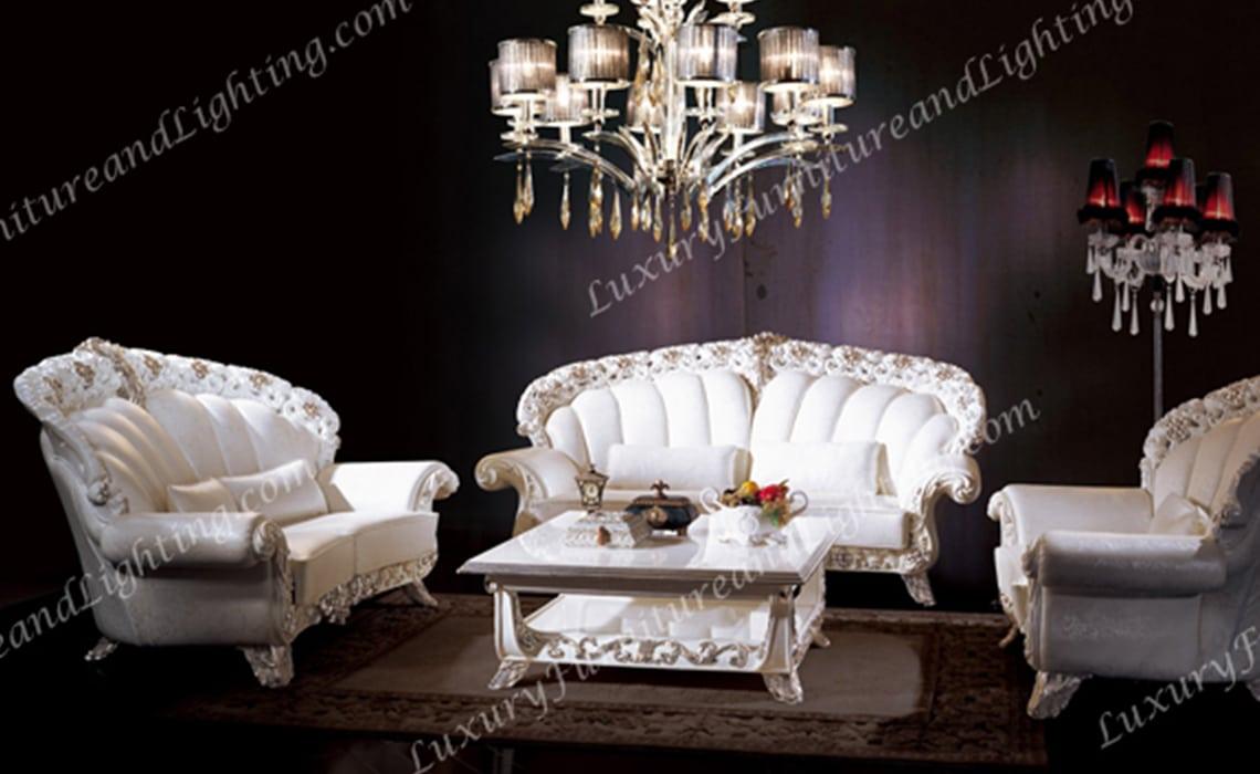 Rhea Italian Furniture - Italian Living Room Furniture Sets