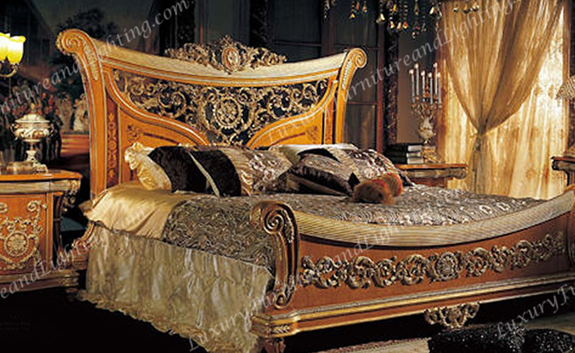 Italian Furniture - Luxurious Italian Bedroom Furniture Riva Bedroom