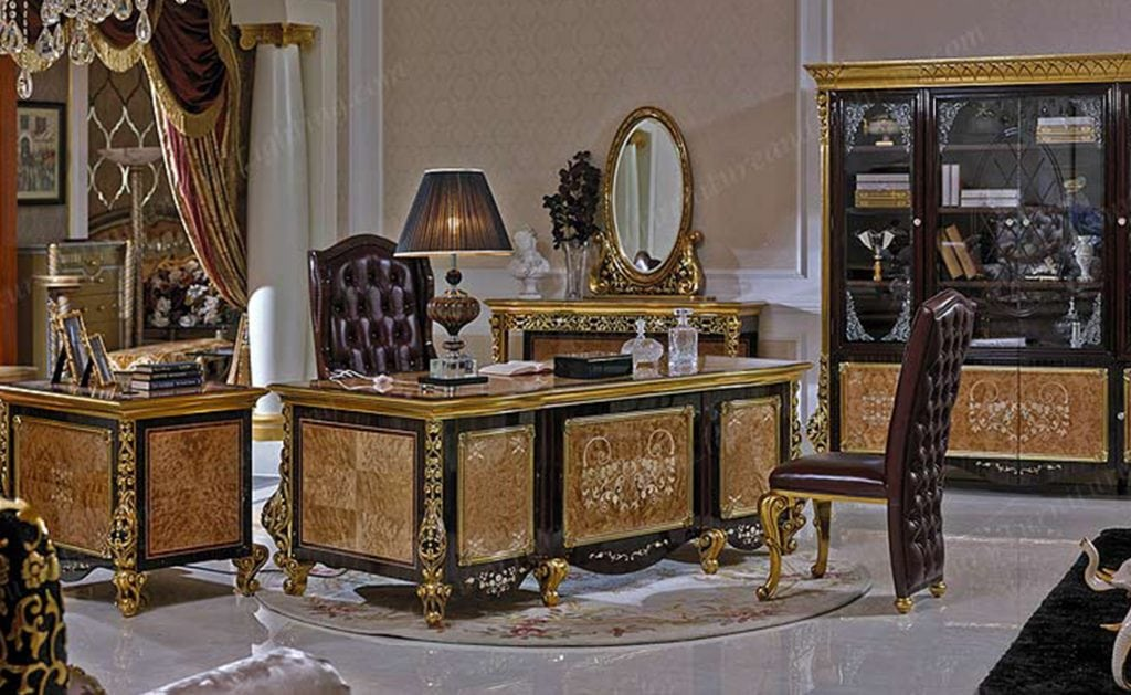 Royal Office Luxury Series Fine Italian Style Furniture