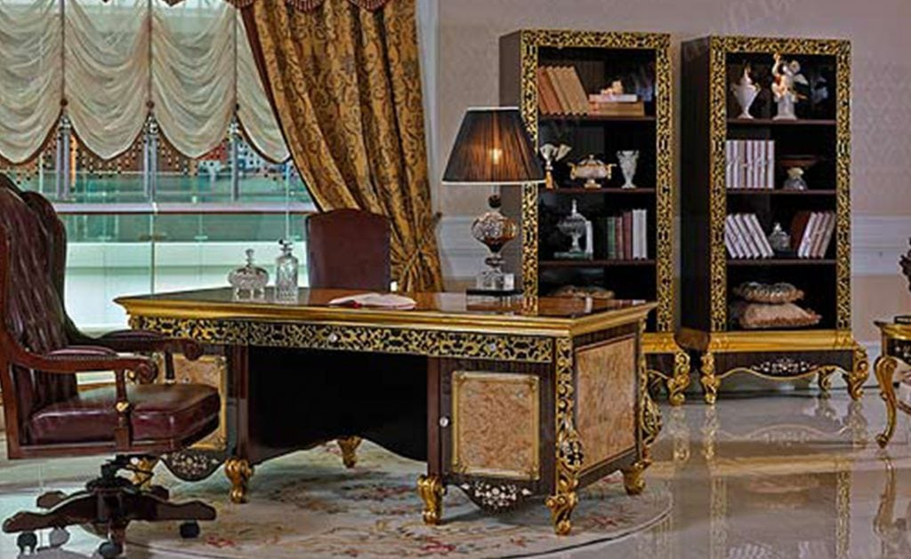 Exceptionnel Royal Office Luxury Series Fine Italian Style Furniture