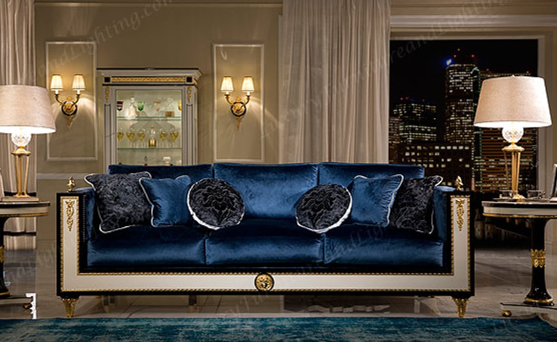 European Living Room Impero Luxury Furniture Amp Lighting