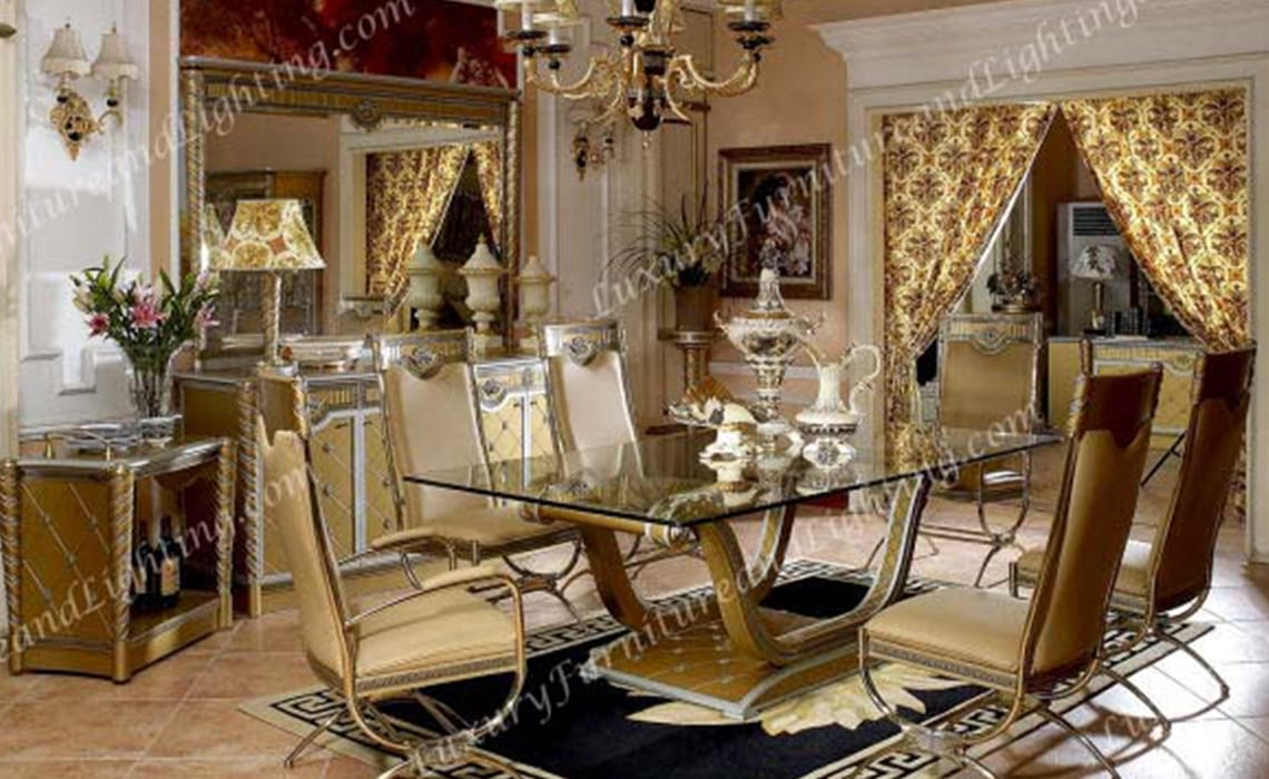 Zeus Dining Room Series Luxury Furniture And Lighting