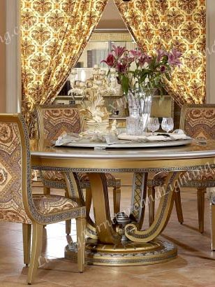 European Dining Room Furniture Round Dining Room Table