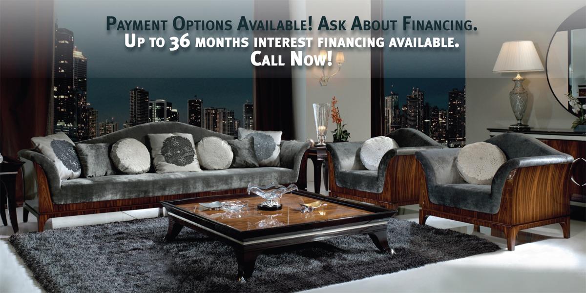 Italian Furniture & Luxury Furniture Big Discounts on Italian Furniture