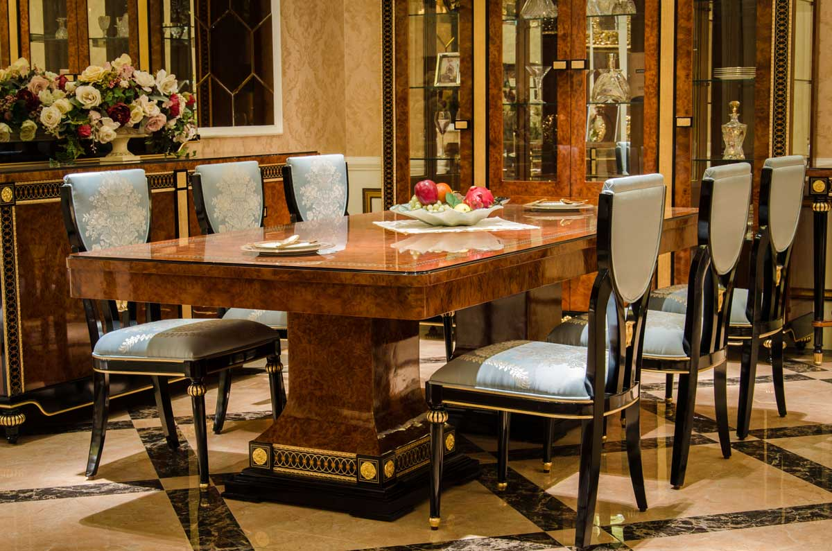 Riva Series Dining Room Luxury Furniture And Lighting