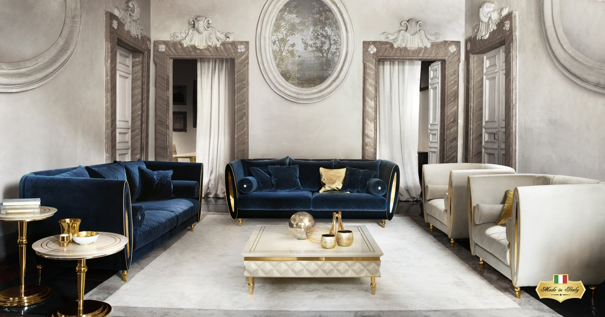 SIPARIO Living Room Collection - Luxury Furniture & Lighting