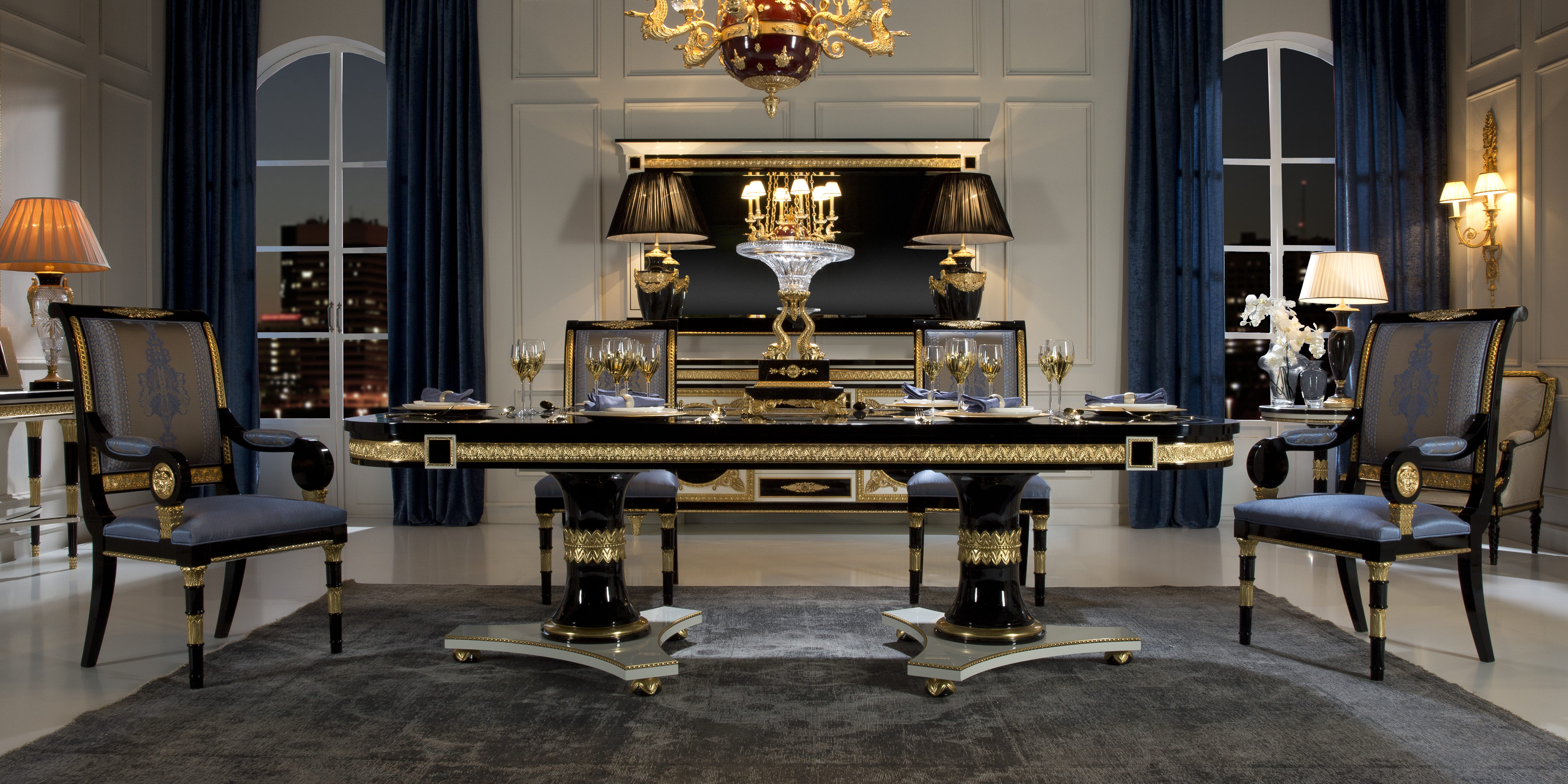 Luxury Furniture And Lighting Presents Neoclical Style
