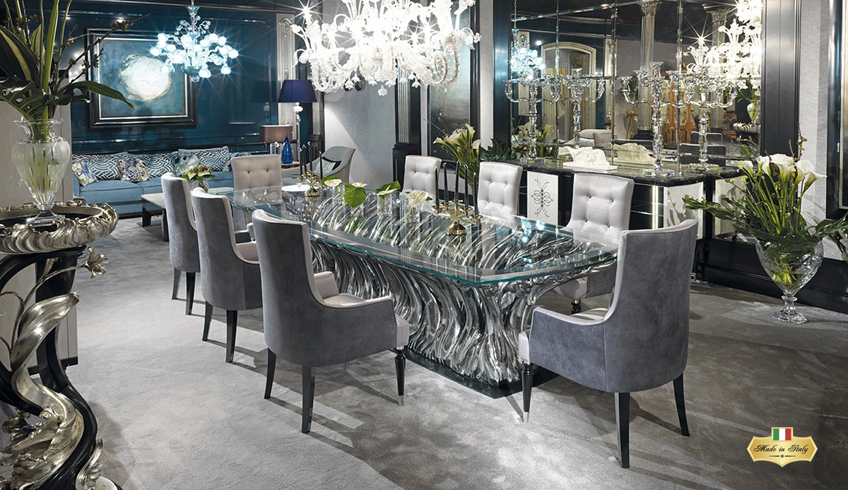 European Dining Room Furniture, Upscale Dining Room Tables