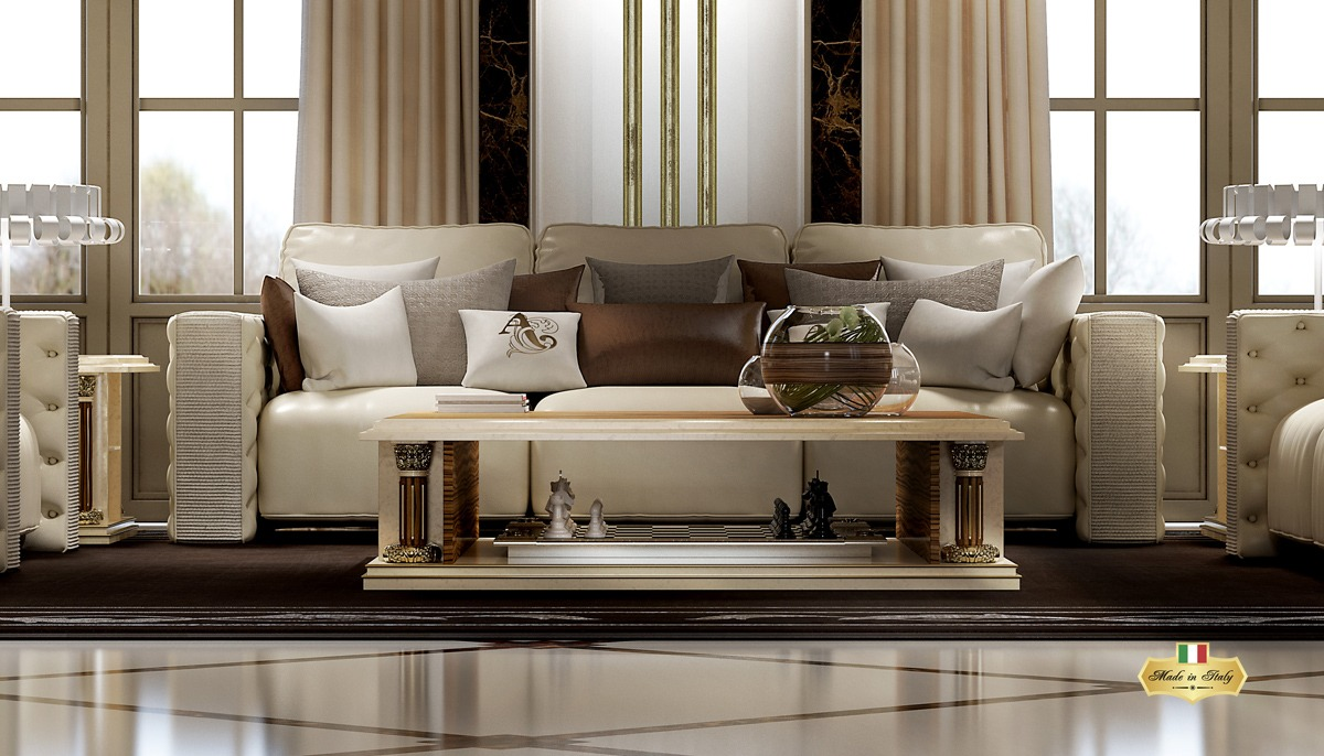 OPALE Living Room Collection - Luxury Furniture & Lighting