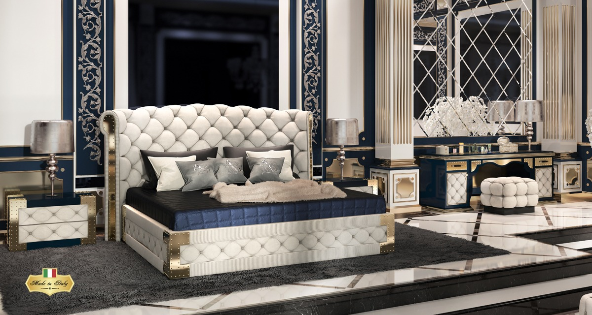 QUARZO Bedroom Collection - Luxury Furniture & Lighting