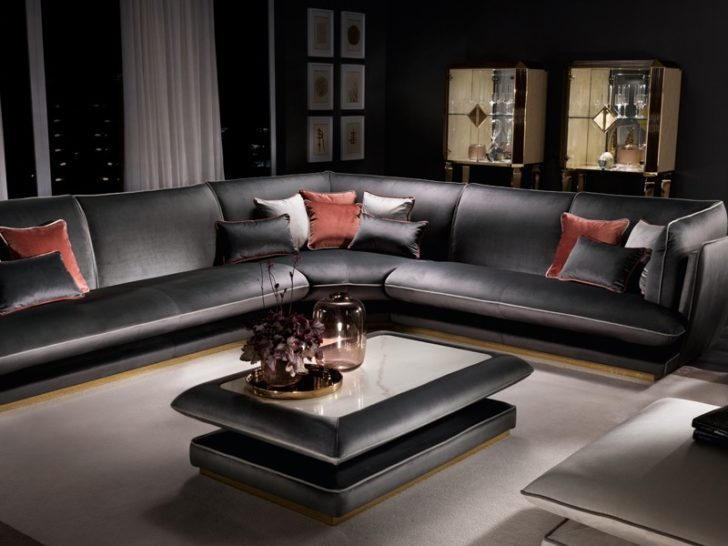 Italian Living Room Furniture European Style Luxury Living Room Sets